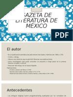 Gaceta de Literatura de México