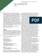 Ogden Fit Hyperelastic Models to Exp Data