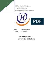 KUIS Sistem Informasi Manajemen