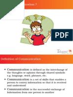 Mastering Soft skills-Communication