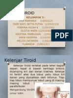 Ppt Disfungsi Tiroid Kel 5 s1a