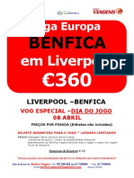 Liverpool x Benfica