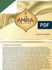 ANFI - Amira Nature Foods Ltd