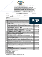 2 Hoja de Evaluacion de Elaboracion de Historia Clinica