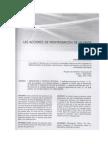 Las acciones de reintegración de la masa en el Perú