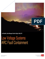 arc fault containment