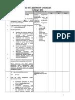 ISO 9001 2008 Audit Checklist Gunung Mas