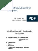 Penyakit Gingiva Dan Enlargemen,Unissula Oleh Drg. Suryono, SH, MM, PhD