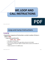 Chapter_2_jump, Loop and Call Instructions