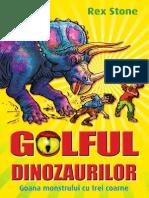 Golful Dinozaurilor  Vol. 2 - Stone, Rex