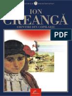 Creanga Ion - Amintiri Din Copilarie (Tabel Crono)