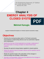 THERMODYNAMICS (TKJ3302) LECTURE NOTES -4 ENERGY ANALYSIS OF CLOSED SYSTEMS