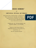 (1910) the Grand Grimore or Imperial Ritual of Magic by R S Clymer