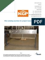 Wire Winding Machine Manual