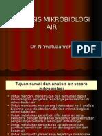 Metoda Analisis Mikrobiologi Air_2010