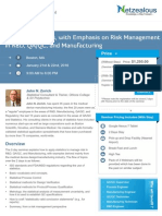 Applied Statistics, With Emphasis on Risk Management-GlobalCompliancePanel