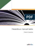 Hazardous Manual Tasks Code of Practice 3559