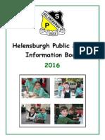 HPS Information Book 2016