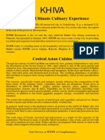 Khiva Main Menu 22-09-20143