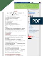 Sciences_ Les Variations Chimiques Et Physiques