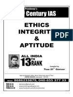 Ethics , Integrity & Aptitude