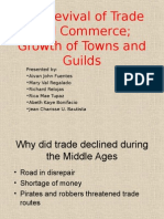 Revival of Trade and Commerce; Growth of Towns and Guilds