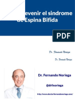 Cómo Prevenir el sindrome de Espina Bifida