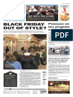 Asbury Park Press front page Wednesday, Nov. 25 2015