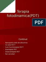 Terapia Fotodinamica(PDT)