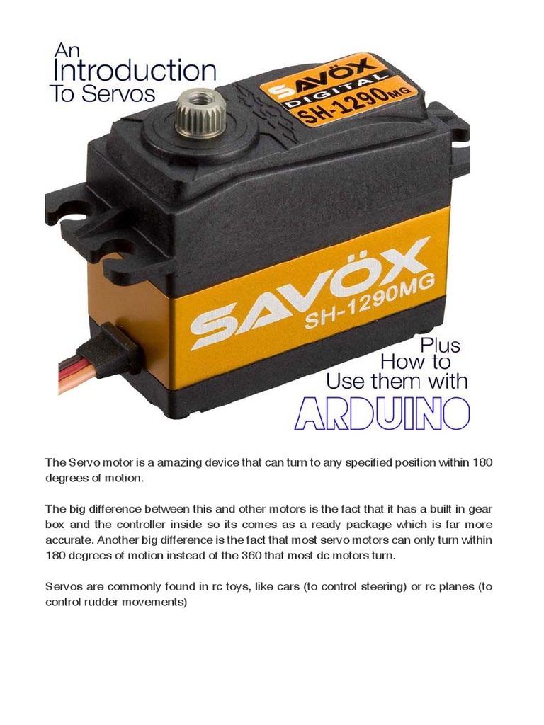 The Servo Motor - Introduction | Servomechanism | Machines