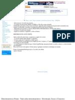 Dicas - Auto Teste Lavadora Eletrônica Consul 6Kg - CWE06A