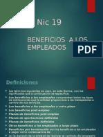 NIC 19 Y 20