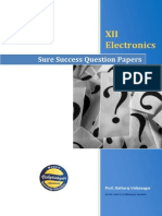 Sure Success Question Papers of XII Electronics