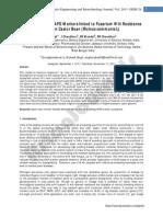 Development of RAPD Markers Linked to Fusarium Wild Resistance Gene in Castor Bean (Ricinus Communis L.)