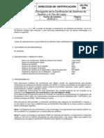 Criterios Para La Divulgación de La Certificación de Sistemas de Gestión y El Uso de Logos