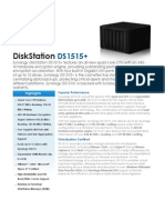 Synology DiskStation DS1515+ Data Sheet