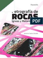 Castro- DoradoPetrografia de rocas igneas y metamorficas.pdf. Petrografia de Rocas Igneas y Metamorficas.