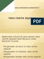 Materi Bahasa Indonesia Teks Cerita Sejarah