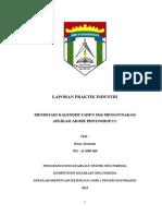 Cover Laporan PSG Jurusan Multimedia SMK