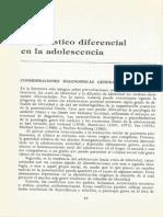 3 - Diagnostico Dif en Adolescencia