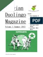 Duolingo Magazine Volume 1