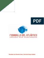 Recetas de rodaballo del Atlantico criado por Pescanova y cocinadas por el chef Ricardo Sanz