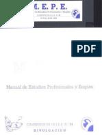Manual de Estudios Profesionales y Empleo
