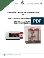 Osnove CNC Programiranja