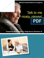 Culture Change for Caregivers