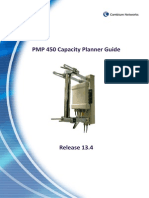 PMP450 Capacity Planner Guide R13.4
