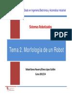 SR T2 Morfología