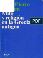 Vernant, Jean-Pierre - Mito y Religion en La Grecia Antigua