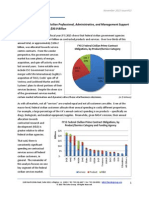 The Soter Group - FY15 Federal Civilian Professional, Administrative, and Management Support Services Market Analysis