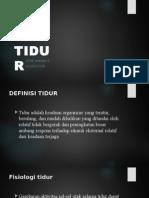 FISIOLOGI-TIDUR